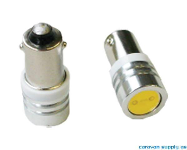 Bilde av Lyspære BA9S LED 31 lumen 0,89W (6W) 12V 12x27mm