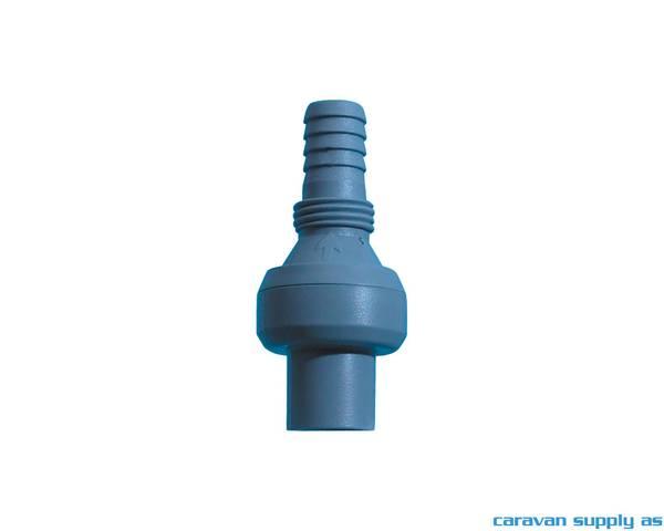 Bilde av Tilbakeslagsventil slange/pumpe Ø10mm blå