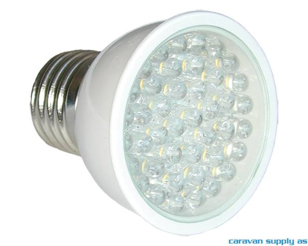 Bilde av Lyspære E27 LED 220 lumen 3,3W (20W) 230V 50x57mm
