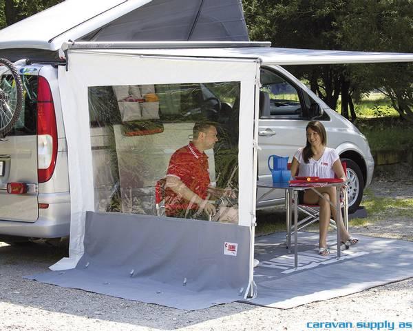 Bilde av Sidevegg Side W Pro F45 H:225-280cm m/vindu og