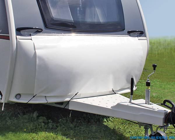 Bilde av Trekk til gasskasse Hindermann B150xH90cm hvit