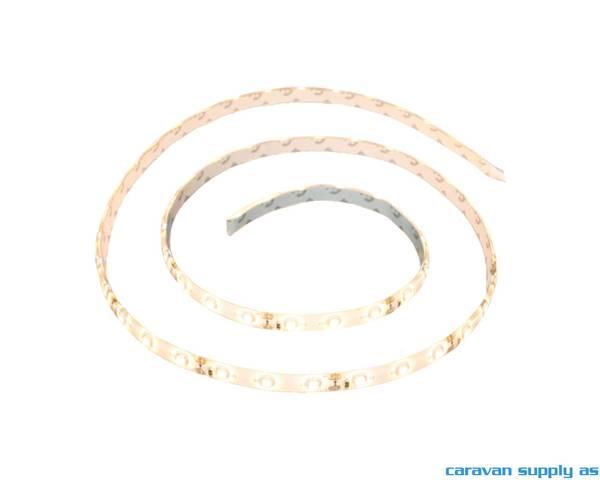 Bilde av Lysstripe LED 12V 300LED varmhvit vanntett rull á