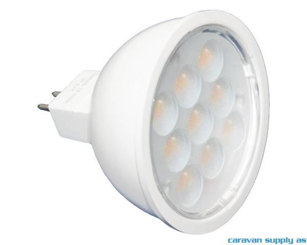 Bilde av Lyspære MR16 LED 350 lumen 4,8W (20W) 12V 50x40mm