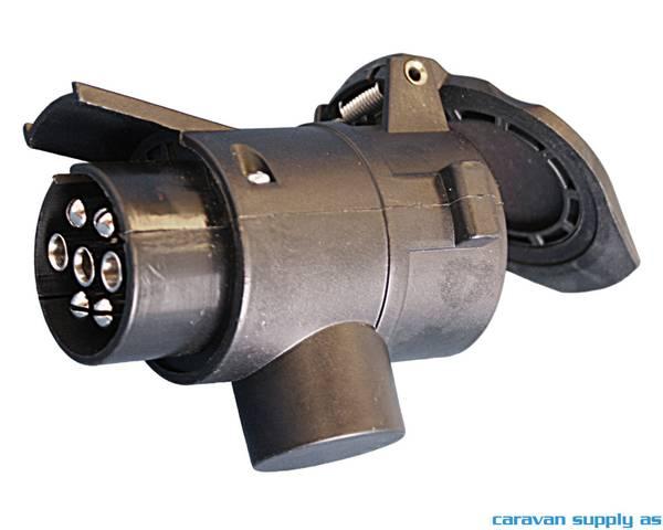 Bilde av Adapter 7-13pol 12V 10cm