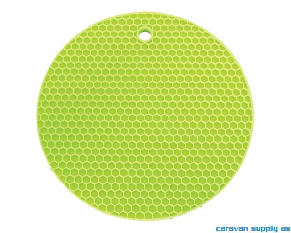 Bilde av Grytelapp LotusGrill silikon rund limegrønn