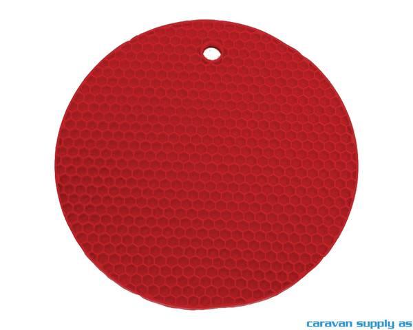 Bilde av Grytelapp LotusGrill silikon rund rød