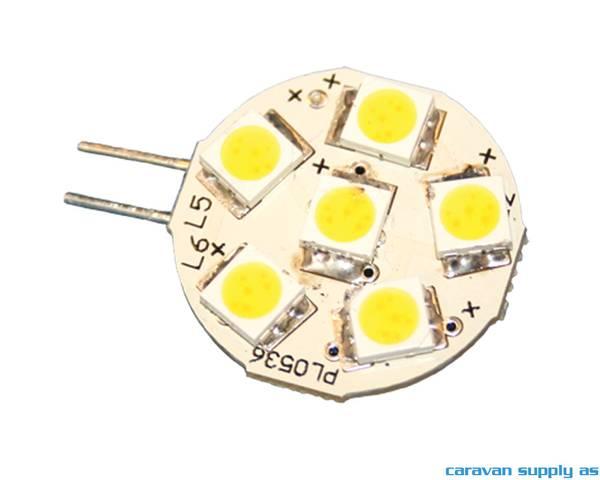 Bilde av Lyspære G4 LED superflat horisontal 65 lumen 1W