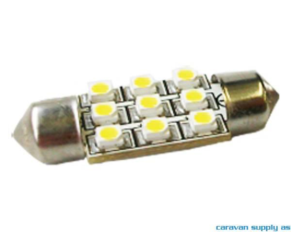 Bilde av Lyspære Sofitt 36mm S8,5 LED 31 lumen 0,4W (5W)