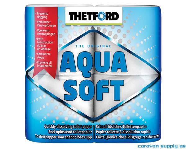 Bilde av Toalettpapir Thetford Aqua Soft 4stk
