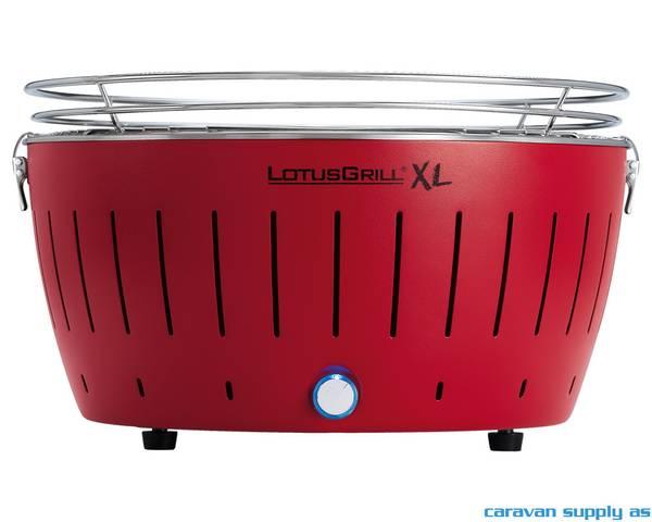 Bilde av Kullgrill LotusGrill XL 435 rød