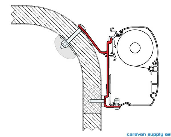 Bilde av Feste F45 Mobilvetta Nazca 3x12cm feste 98655-713