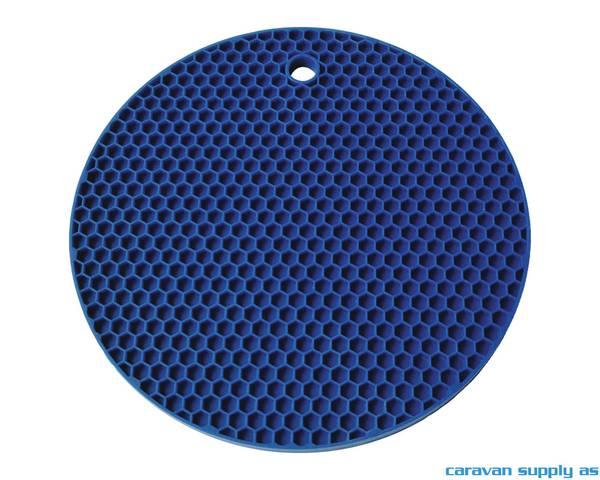 Bilde av Grytelapp LotusGrill silikon rund blå