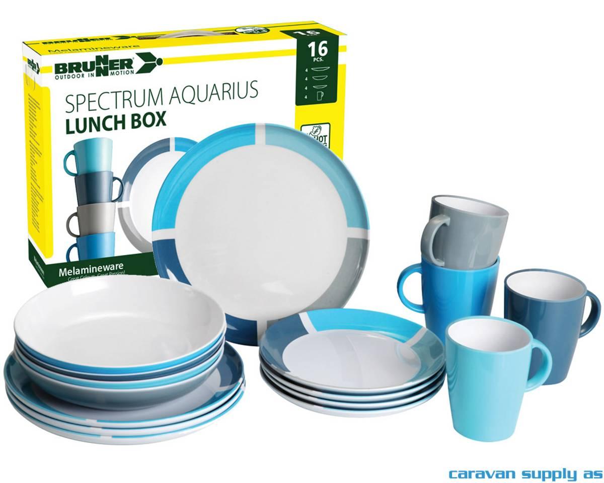 Servise Brunner Aquarius Lunch Box 16-deler