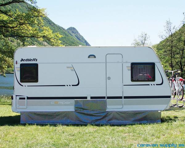 Bilde av Understykke Fiamma til caravan 450x60cm grå