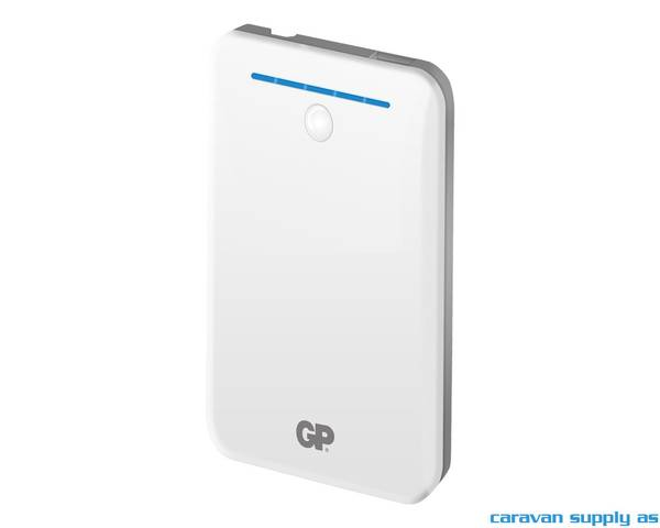 Bilde av Powerbank GP GL343 4000mAh 109 x66x11mm hvit