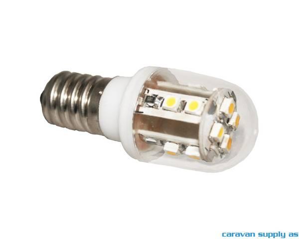 Bilde av Lyspære E14 LED 60 lumen 0,7W (7W) 12V 21x55mm