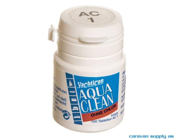 Bilde av Vannrensemiddel Aqua Clean 1 1tab/1l 100tab