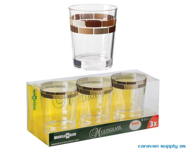 Bilde av Glass Brunner Chocolate 30cl 3stk