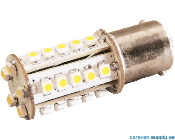 Bilde av Lyspære BA15S LED 86 lumen 1,2W (20W) 12V 17x52mm