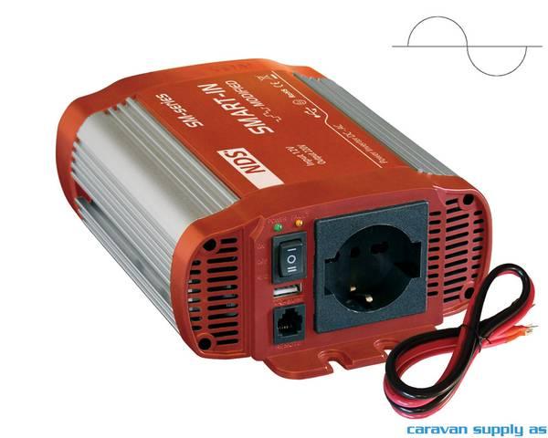 Bilde av Omformer NDS Smart-In SP600 600W ren sinus 12V