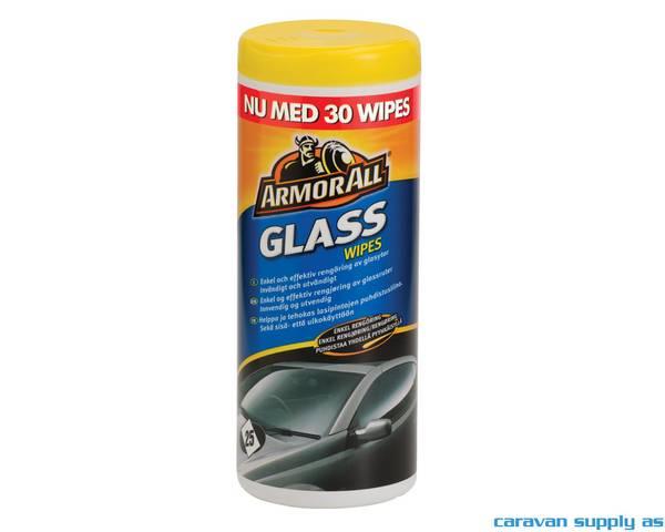 Bilde av Armor All Glass Wipes 30stk