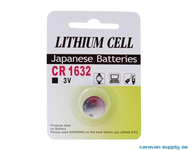Bilde av Batteri GP Lithium CR1632 knappcellebatteri 3V