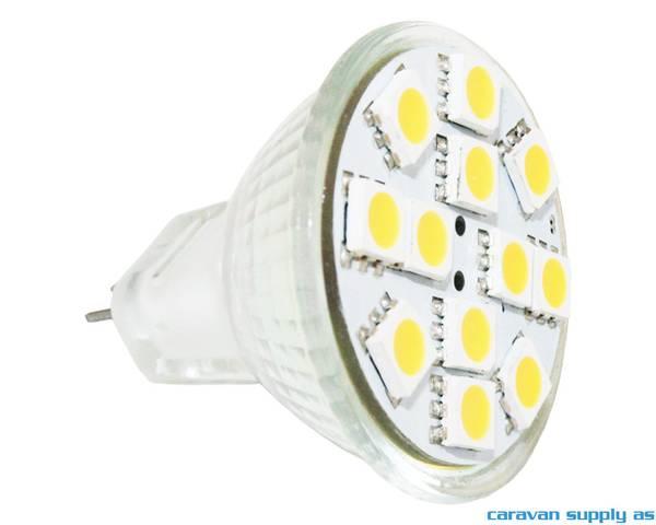 Bilde av Lyspære MR11 LED 100 lumen 1,8W (15W) 12V 35x40mm