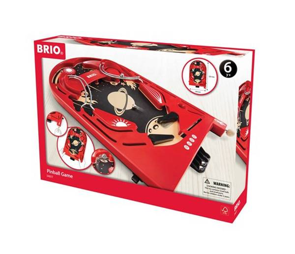 Bilde av BRIO Flipperspill i tre 34017