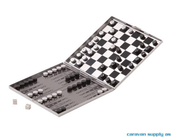 Bilde av Spill sjakk/backgammon reisestørrelse