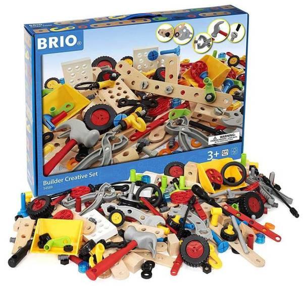 Bilde av BRIO Builder 34589 - byggesett 270 deler