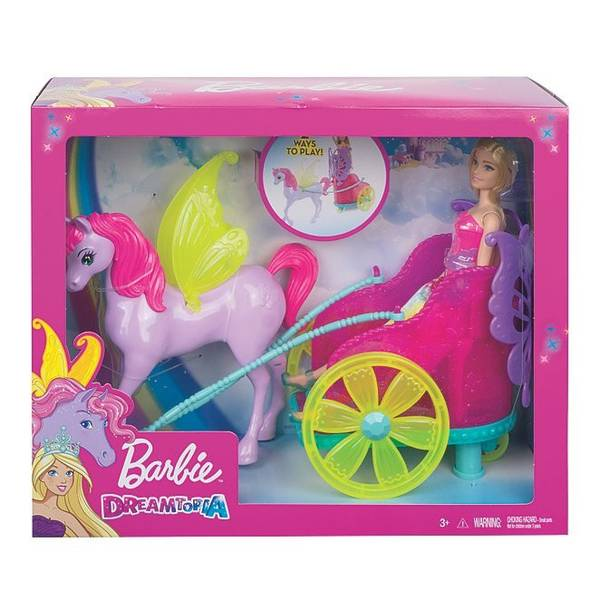 Bilde av Barbie Dreamtopia Princess, Pegasus & Chariot