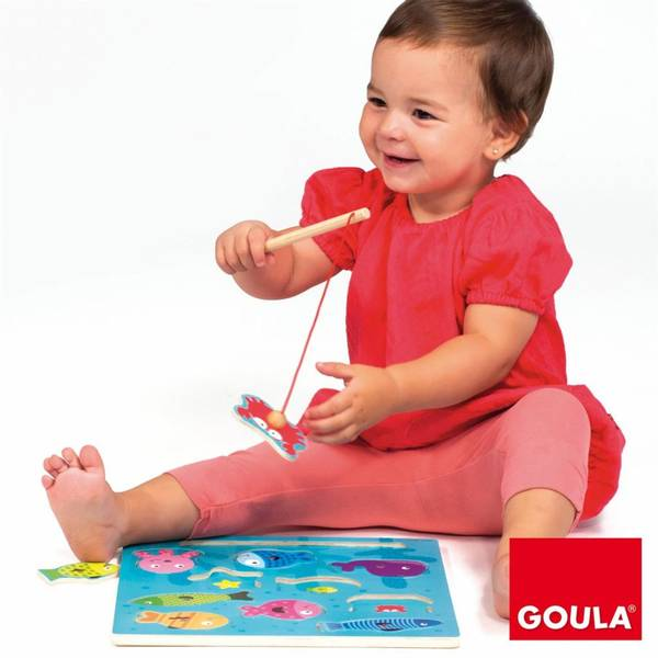 Bilde av GOULA – MAGNET FISKEPUSLESPILL I TRE
