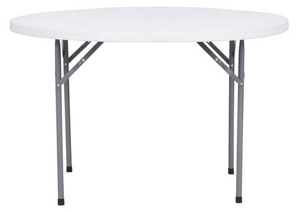 Bilde av Outfit bord sammenleggbar rundt 120cm