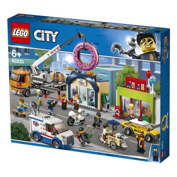 Bilde av LEGO City Town 60233 Åpning av smultringbutikk