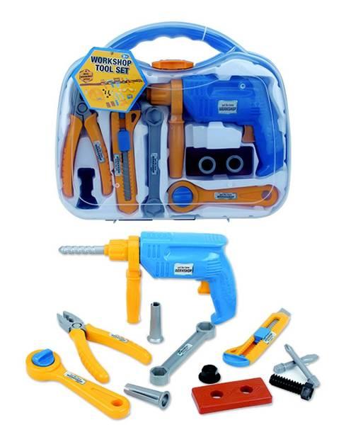 Bilde av JUST LIKE HOME WORKSHOP – Verktøykoffert m/drill