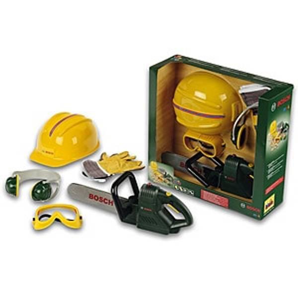 Bilde av KLEIN – Bosch motorsag m/hjelm og utstyr