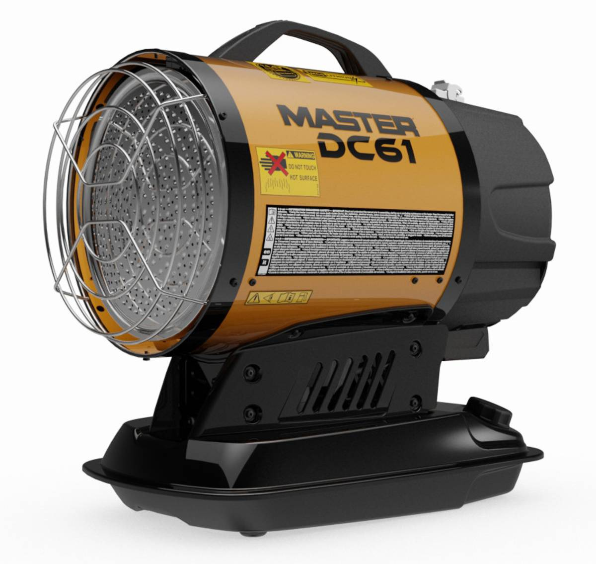 Master Varmluftsaggregat DC61 - Infrarød stråleovn