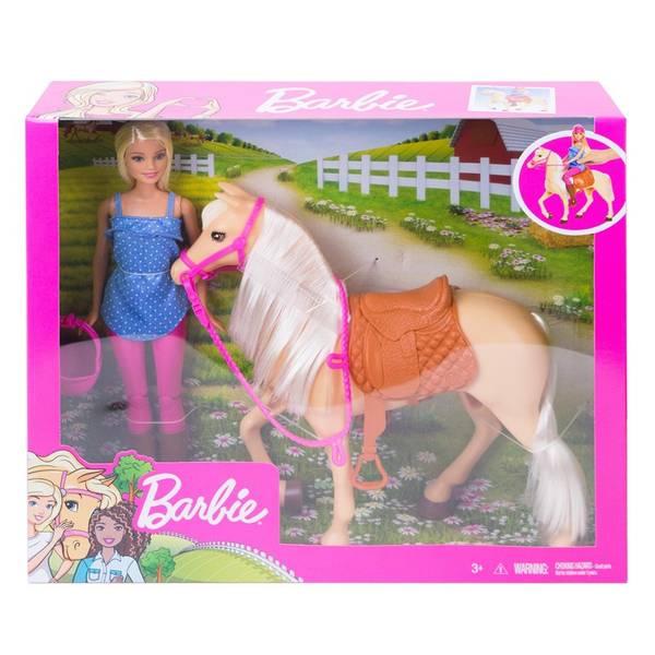 Bilde av Barbie rytter med hest
