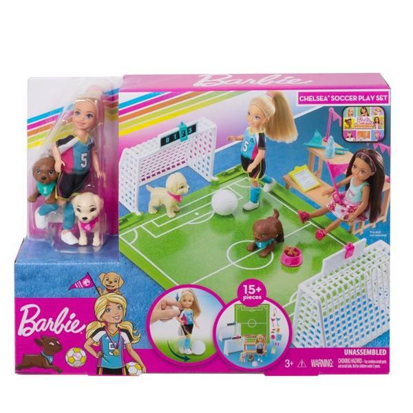 Bilde av Barbie DHA Chelsea Soccer Playset