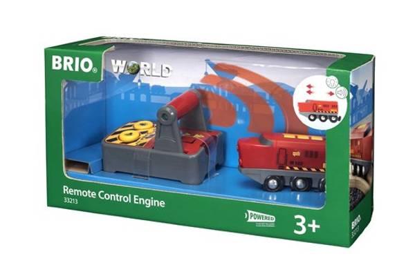 Bilde av BRIO RC-lokomotiv med kontroll - 33213