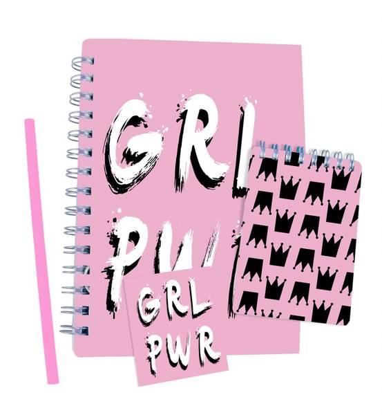 Bilde av SENSE – SKRIVESETT – GIRL POWER