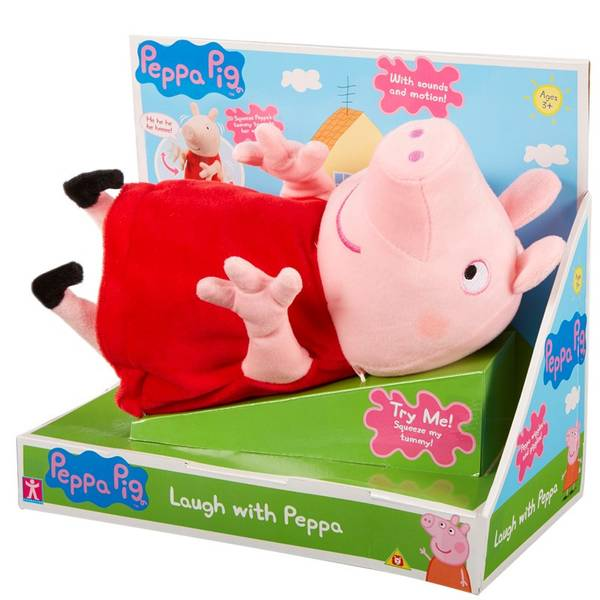 Bilde av Peppa Gris Laughing Peppa plysj
