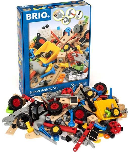 Bilde av BRIO Builder 34588 kreativt byggesett 210 deler