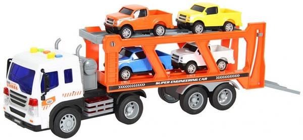 Bilde av WENYI – Biltransporter m/lys og lyd (38cm)