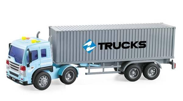 Bilde av WENYI – Containerbil m/lys og lyd (38cm)
