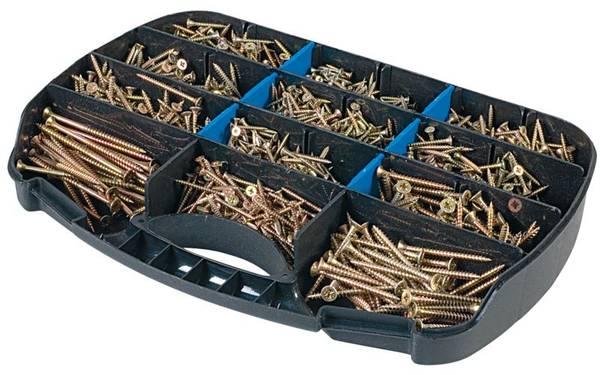 Bilde av Fixxer treskruesett i koffert elforsinket 12-60mm