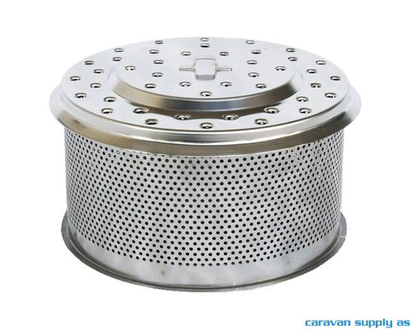 Bilde av Kullbeholder til LotusGrill XL rustfritt stål