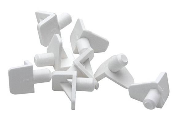 Bilde av Fixxer hyllebærer nylon/hv Ø5mm A24