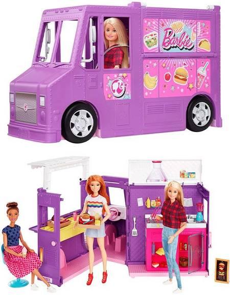 Bilde av Barbie Food Truck - gatekjøkken på hjul