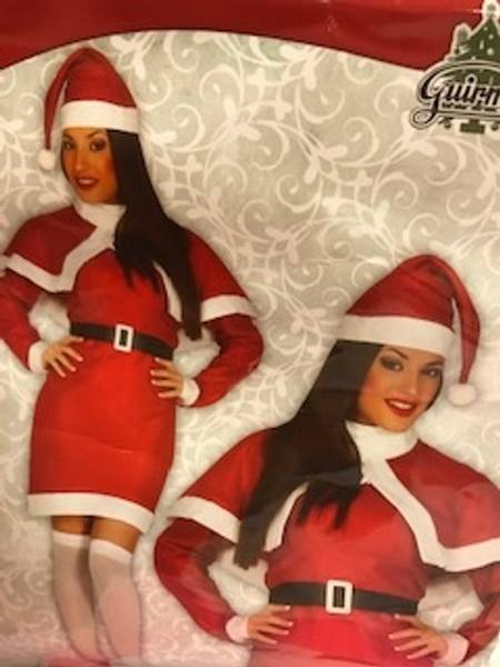 Bilde av Kostyme voksne Th3 Party Julenissedame Filt